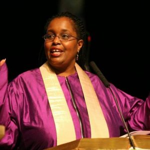 Rev Robina Winbush was installed as the first woman and 9th Pastor of Hollis.